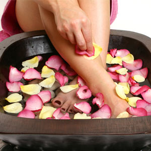 Foot Aromatherapy