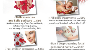 Bellezza Spa December Coupons