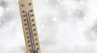 Harsh winter conditions can cause dry skin